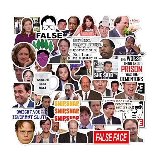 The Office Sticker Pack of 50 Stickers - The Office Stickers