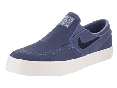 Nike Men's Zoom Janoski Slip Cpsl Blue Moon/Obsidian/Ivory Skate Shoe 10.5  Men