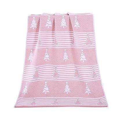 Toallas de árbol de Navidad Toallas de algodón de la familia Toalla de baño Toalla de