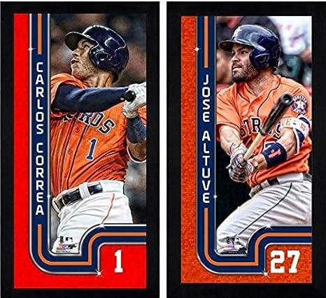 4706fbb59e2 Amazon.com: Carlos Correa & Jose Altuve Houston Astros Mini-Frames ...