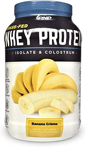 Grass-Fed Whey Protein Isolate Colostrum 100 All-Natural Grass-Fed Whey Protein Isolate, Colostrum Probiotics with No Artificial Flavors, Colors, Antibiotics, Gluten or Soy 1,065g