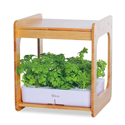 IDeer Life Mee Kitchen, Smart Indoor Gardening System W/LED Plant Grow  Light,