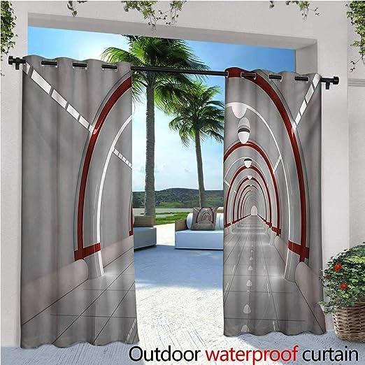 Exterior espacio al aire libre – Cortina de privacidad de pie al ...