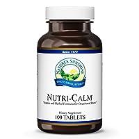 Nature's Sunshine Nutri-Calm 100 Tablets