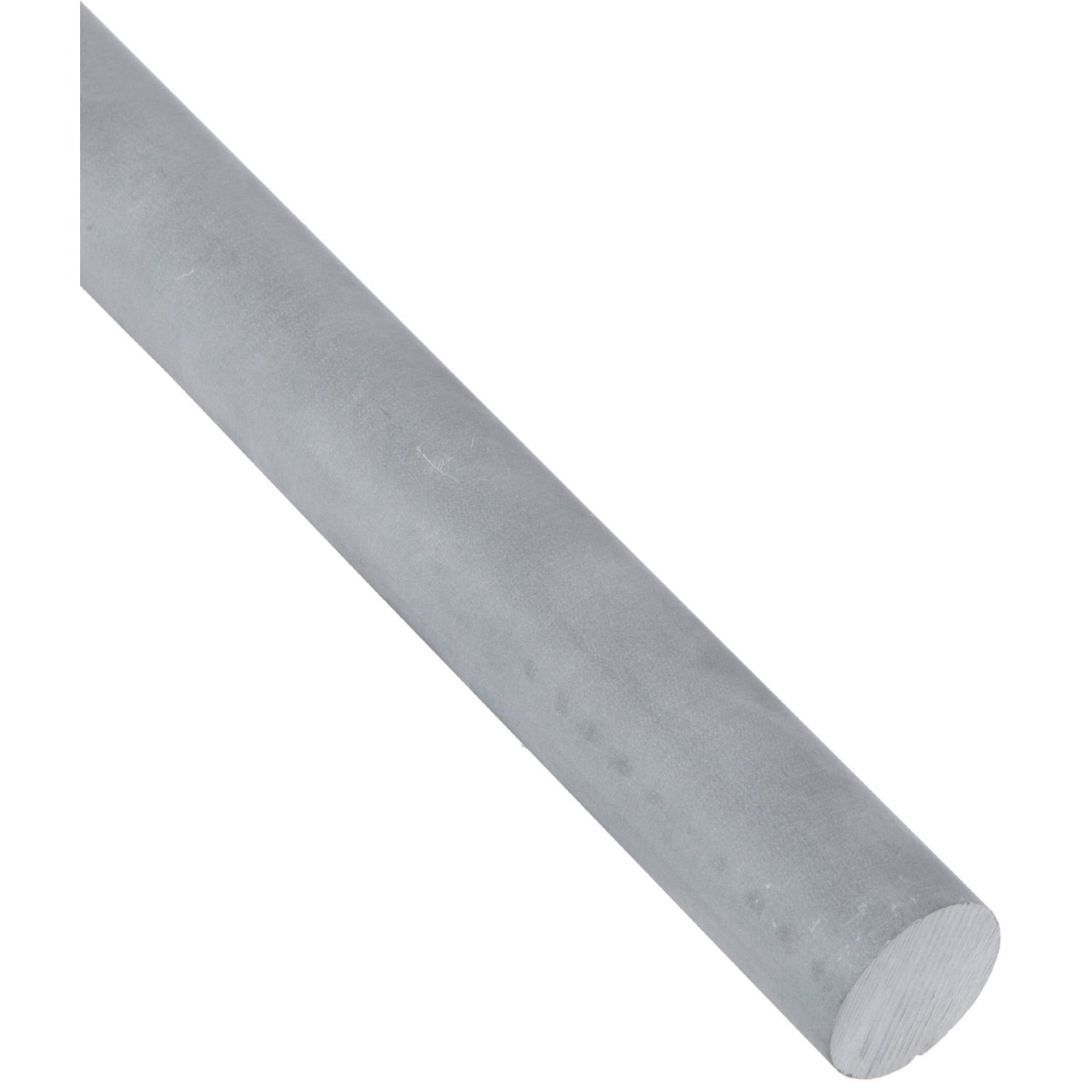 7//8 Diameter 9 Length Rod Lava Opaque Gray Alumina Silicate Ceramic