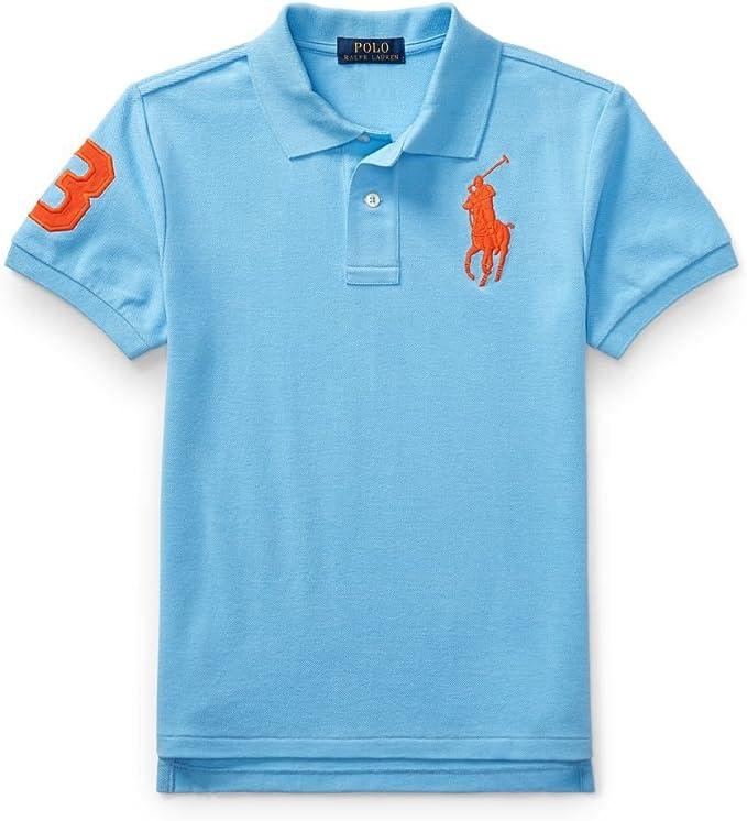 Ralph Lauren - Polo - para niño Chatham Blue Large: Amazon.es ...