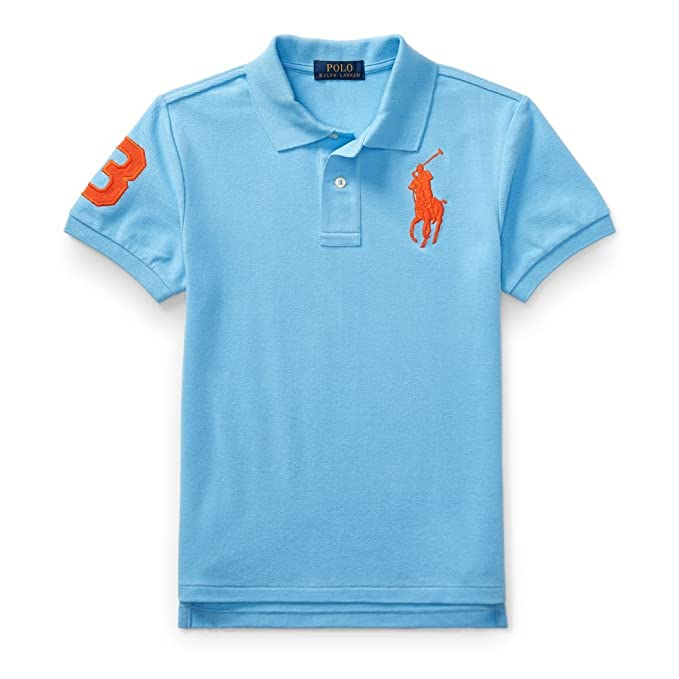 Ralph Lauren - Polo - para niño Chatham Blue Large: Amazon.es ...
