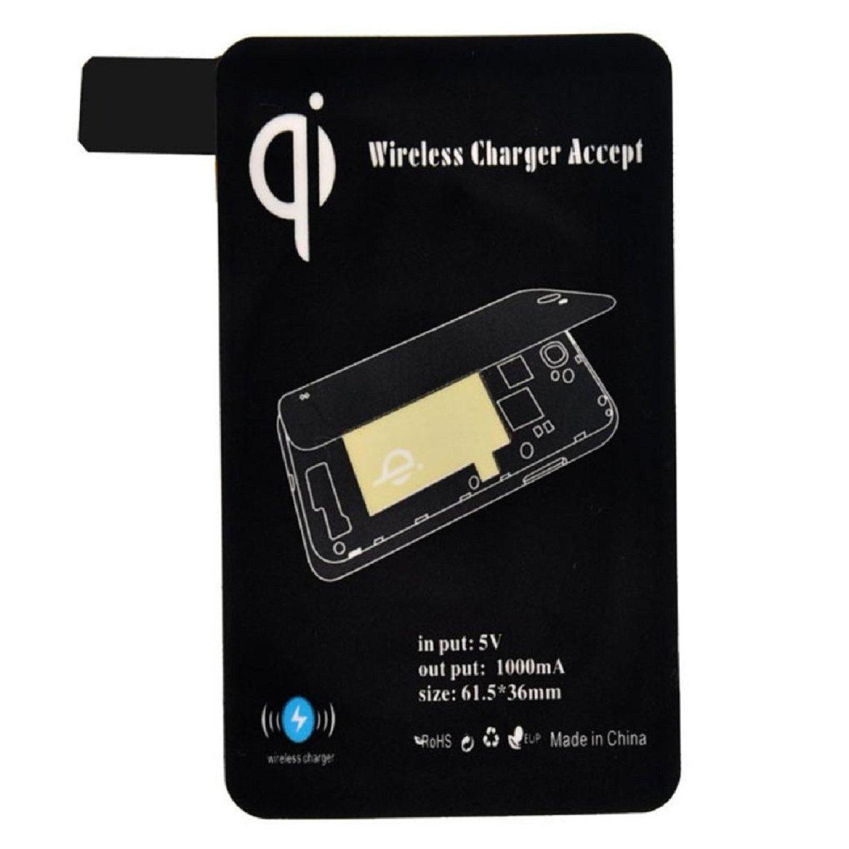 Lookatool Galaxy S5 I9600 G900 Cargador inalámbrico, Qi ...