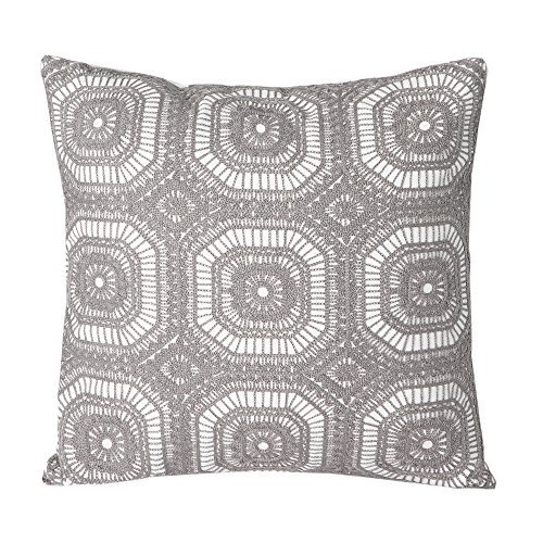 Embroidery Decorative Pillow - 2