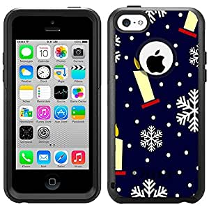 OtterBox Commuter Apple iPhone 6 plus 5.5 Case - Candles and Snowflakes Pattern OtterBox Case