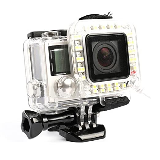 Amazon.com: WiserElecton Gopro Lens USB LED Ring Luz de ...