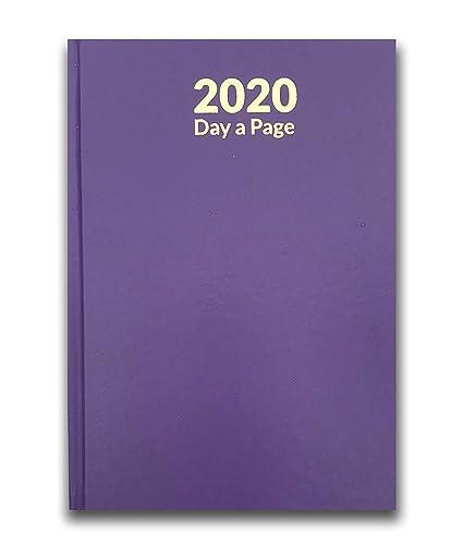 BMC London 2019 A5 - Agenda de día a página, color morado ...