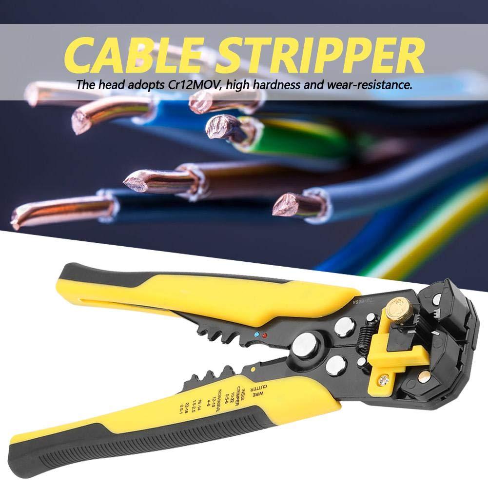 Cable el/éctrico profesional que pela la herramienta que prensa pela la herramienta que prensa del pelador del alambre para los terminales TU-669A