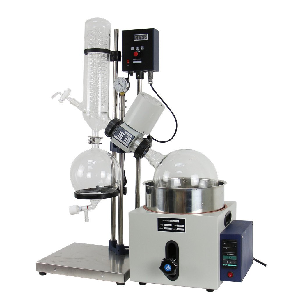 lab1st 5L Rotary Evaporator Hand Lifting Turnkey Package w/Water Vacuum Pump by LAB1ST (Image #4)