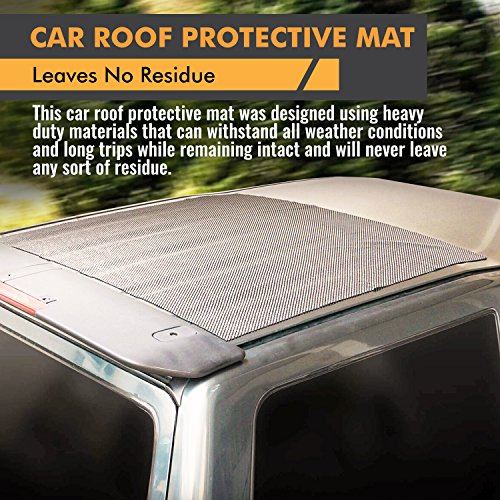 Car Top Carrier Roof Rack Pad For Cars Trucks Vans Suv