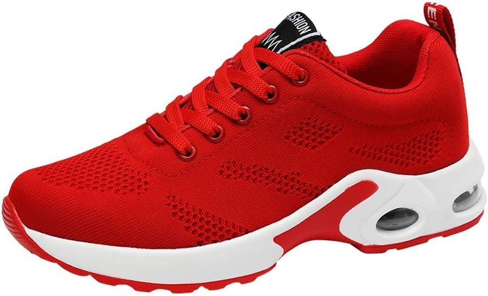 RYTEJFES Zapatilla Air Transpirables para Estudiantes Zapatos Deportivos Zapatos Casuales para Correr Zapatos Calzado Deportivo Zapatilla Malla Plataforma Zapatillas Deportivas De Mujer: Amazon.es: Hogar