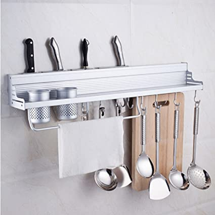 Buy Generic Stainless Steel Rack Set Wall Mounted Kitchen