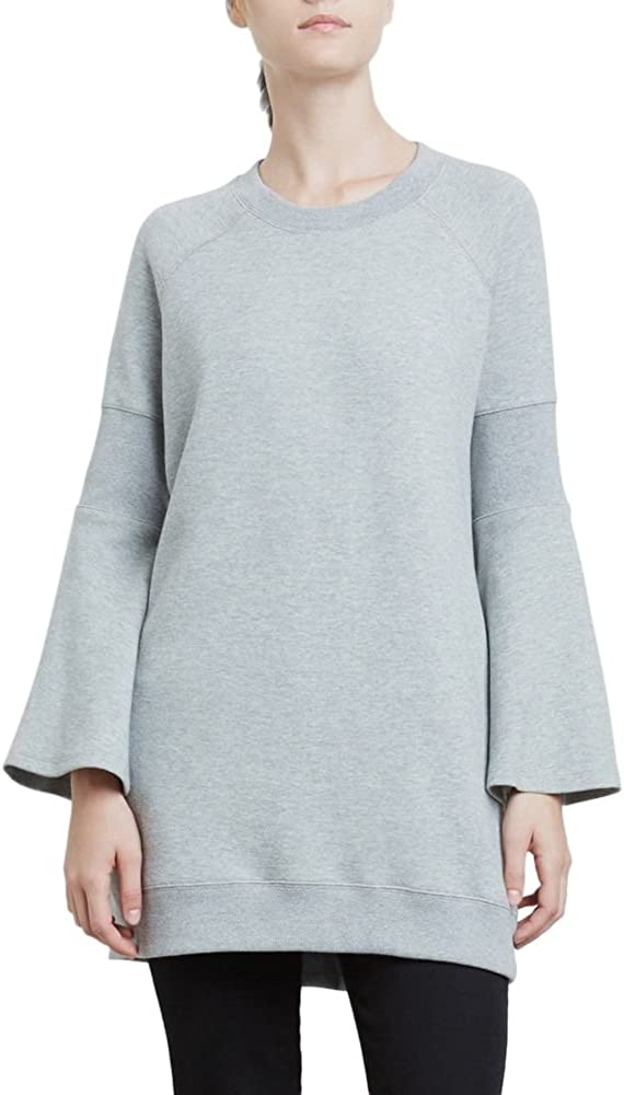 Kenneth Cole Women's Rib Detail Sweatshirt