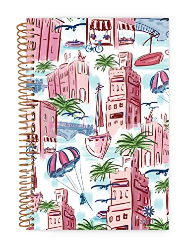 bloom daily planners 2018-2019 Academic Year Day Planner - Monthly and Weekly Datebook/Calendar Book - Inspirational Dated Agenda Organizer - (August 2018 - July 2019) - 6 x 8.25 - Wanderlust