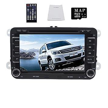 Unidad 7 pulgadas Digital pantalla táctil coche reproductor de DVD GPS sistema de navegación con Autoradio