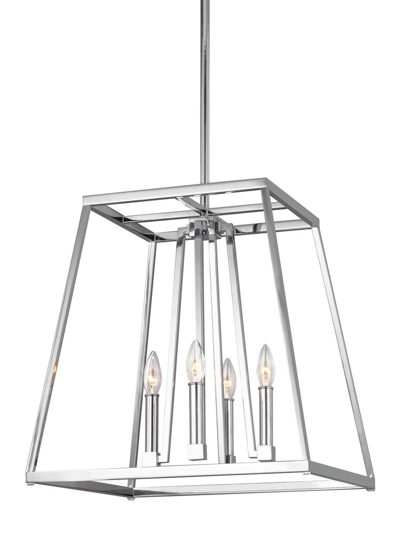 Feiss Four Light Chandelier F3150/4CH by Feiss