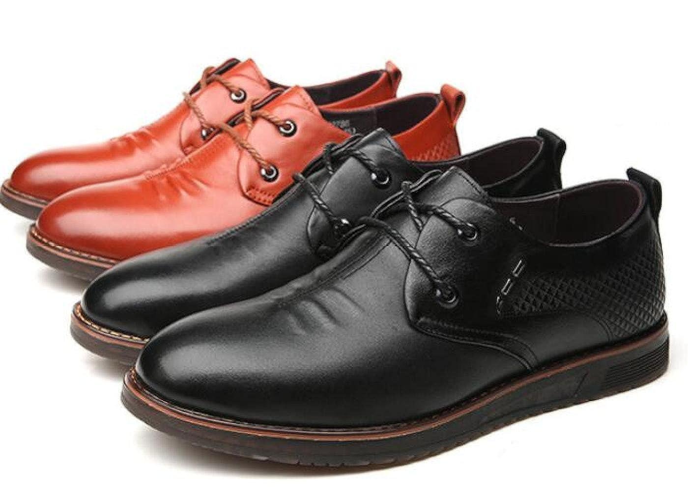 GTYMFH Vier Jahreszeiten Männer Lederschuhe Herrenschuhe Geschäft Freizeit Schuhe Mode Einzelne Schuhe Freizeit 90a617