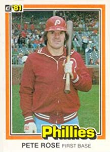1981 Donruss Baseball #131B See Card 371 Pete Rose Philadelphia Phillies Official MLB Trading Card From The Donruss Company in RAW (EX-MT or Better) Condition