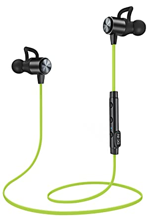 Auriculares Bluetooth, auriculares inalámbricos, atgoin ligero auriculares Bluetooth, a prueba de sudor estéreo