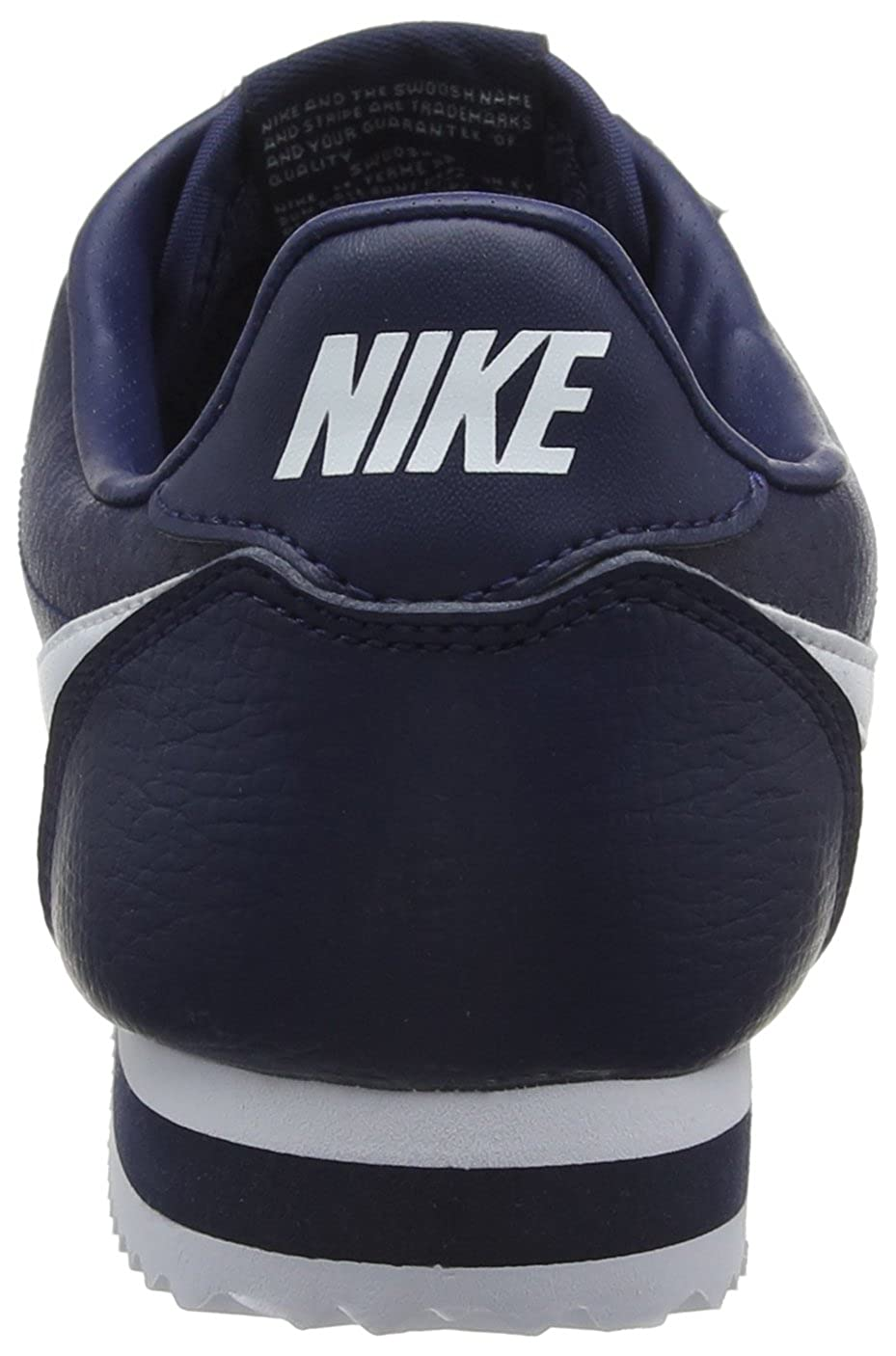 get new new authentic reasonably priced Buy Nike Classic Cortez Leather Fashion Sneaker - 11.5M - Midnight ...