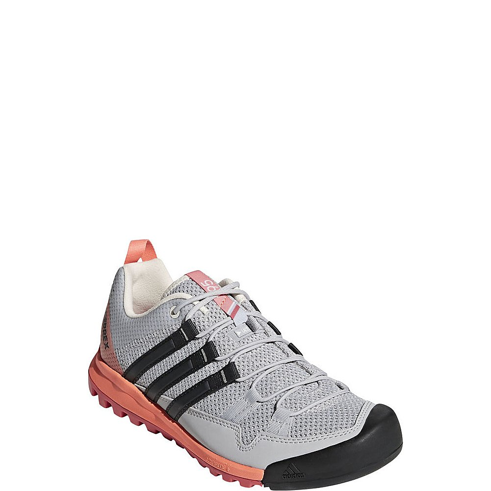 adidas outdoor Women's AX2 Hiking Shoe B072Y1RSTP 7 M US|Grey Two, Carbon, Chalk Coral