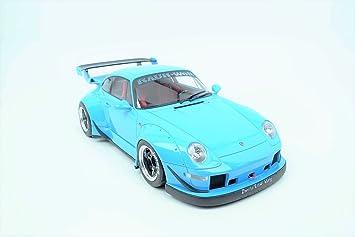 Gt Spirit - Porsche 993 RWB Coche de ferrocarril, gt167, Azul, Escala 1/12: Amazon.es: Juguetes y juegos
