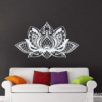 BFMBCH Mandala etiqueta de la pared decoración sala de estar ...