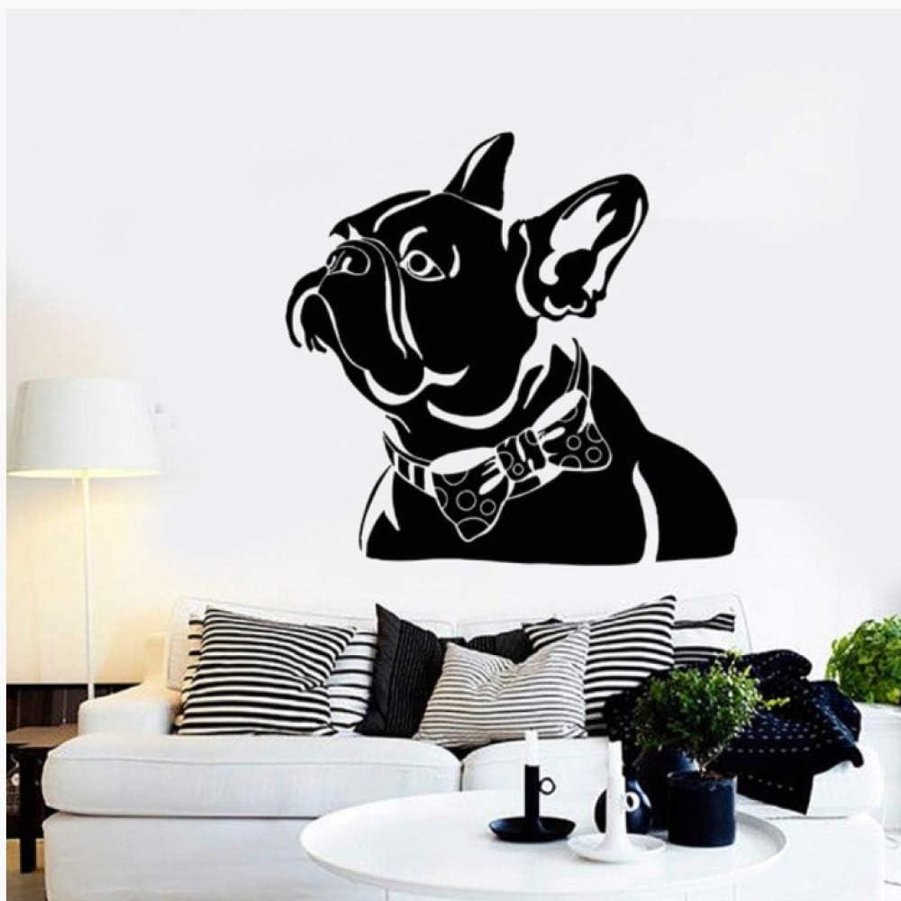 Hapy Dog Se Puede Quitar Personalidad Moda Creativa Pegatinas De Pared Sala De Estar Sofá Pared 58X63Cm