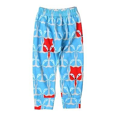 554f07f86 Igemy Newborn Baby Boys Girls Fox Print Harem Pants Children ...