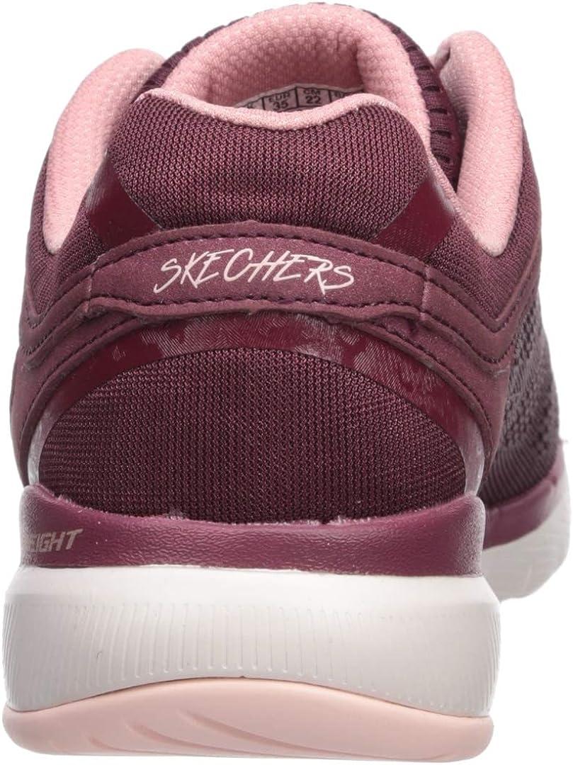 Skechers Women's Flex Appeal 3.0 Sneaker Buck/Red