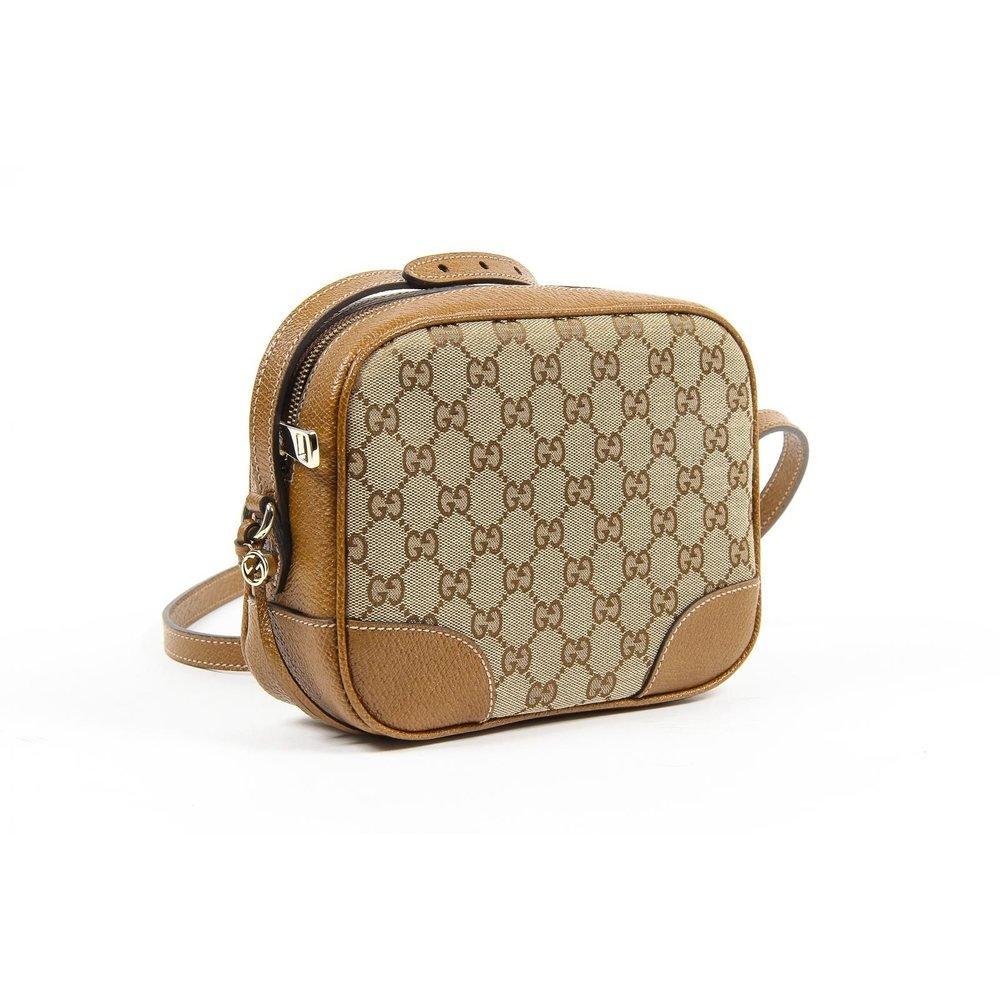 ff167fef54fbf0 Brown ONE SIZE Gucci Ladies Bree Original GG Canvas Mini Messenger Handbag:  Amazon.ca: Shoes & Handbags