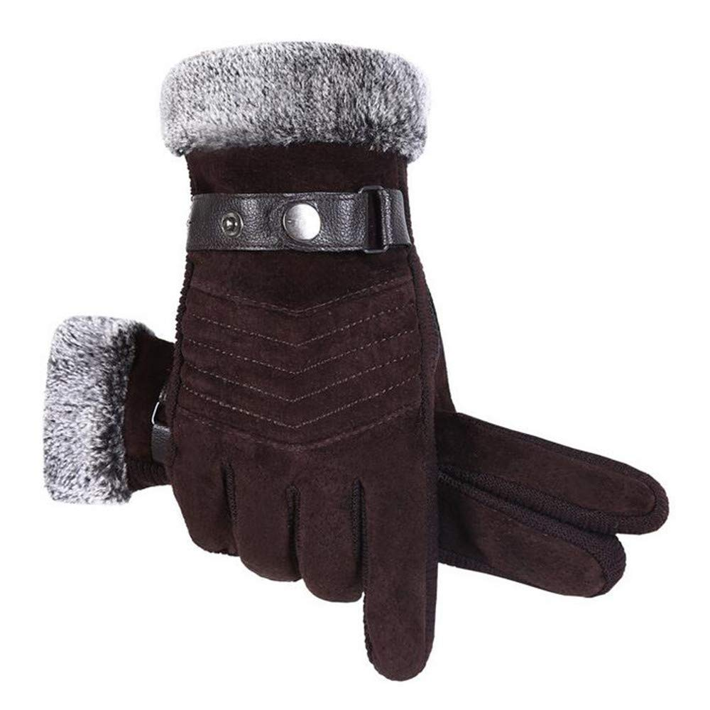 BingYELH Winter Gloves, Touch Screen Gloves Waterproof and Windproof Gloves for Cycling Riding Running Skiing Gloves