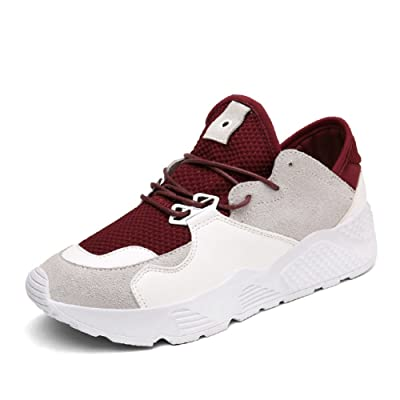 Summer air sports shoes/female net shoes,korean version of leisure flat bottom running shoes/students with thick soles of shoes-A Foot length=22.3CM(8.8Inch)