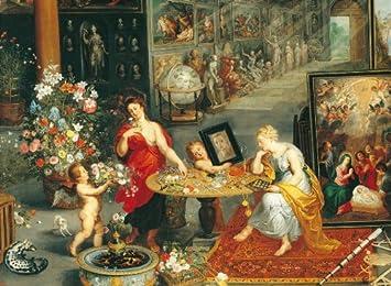 Clementoni - Puzzle de 6000 Piezas con diseño Bruegel: Alegoria de la Vista y el olfato (36515.9): Amazon.es: Juguetes y juegos