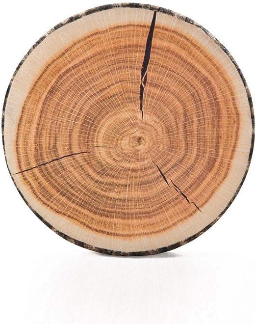 Buy 1 get 1 3D Round circle tree wood stump pillow seat sofa cushion home decor