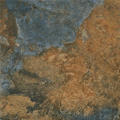 Hematite Autumn 12 in. x 12 in. Porcelain Floor and Wall Tile (14.33 sq. ft. / case) (Home Collections Porcelain)