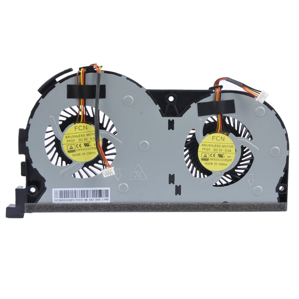 Cooler Para Lenovo Touch Y50 Y50-70 Y50-70am Y50-70as Series  Para Part Number Ffgy Dfs501105pq0t