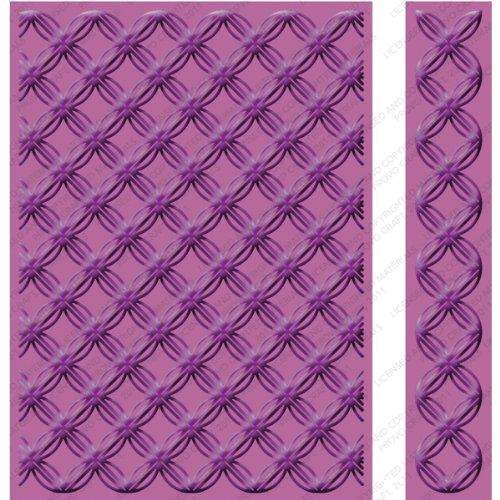 Cuttlebug Embossing Borders (Cricut Cuttlebug Embossing Folder, Geometric Ring, 5-Inch by 7-Inch)