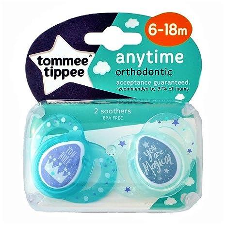 Anytime de Ortodoncia Silicona Chupetes de Tommee Tippee ...