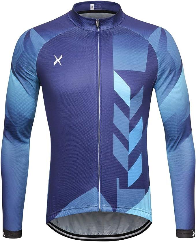Amazon.com: Xtextile - Maillot de ciclismo para hombre con ...