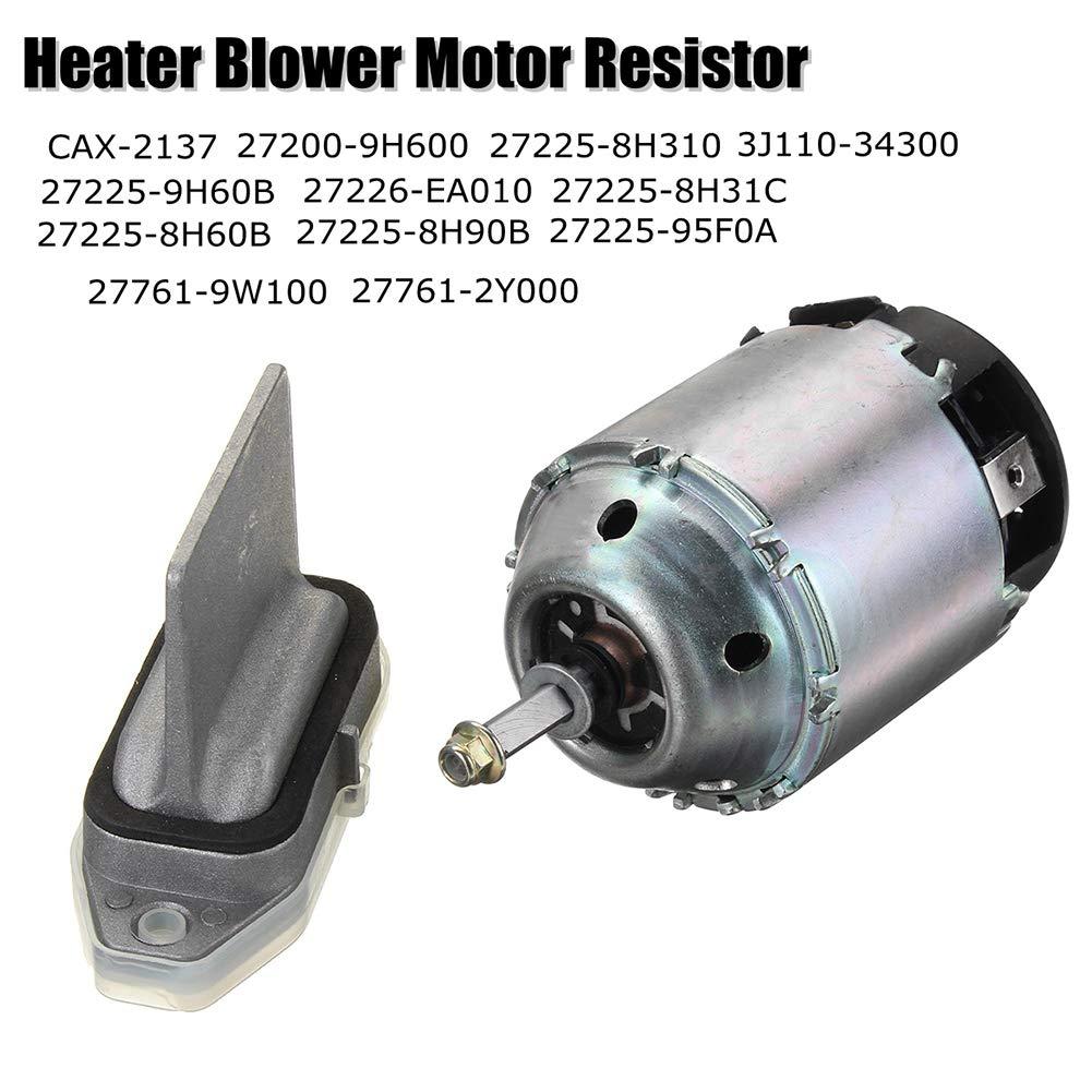 YSHtanj resistenza 27761-9W100 per Nissan X-Trail T30 Motore resistenza per componenti interni auto 27225-8H31C