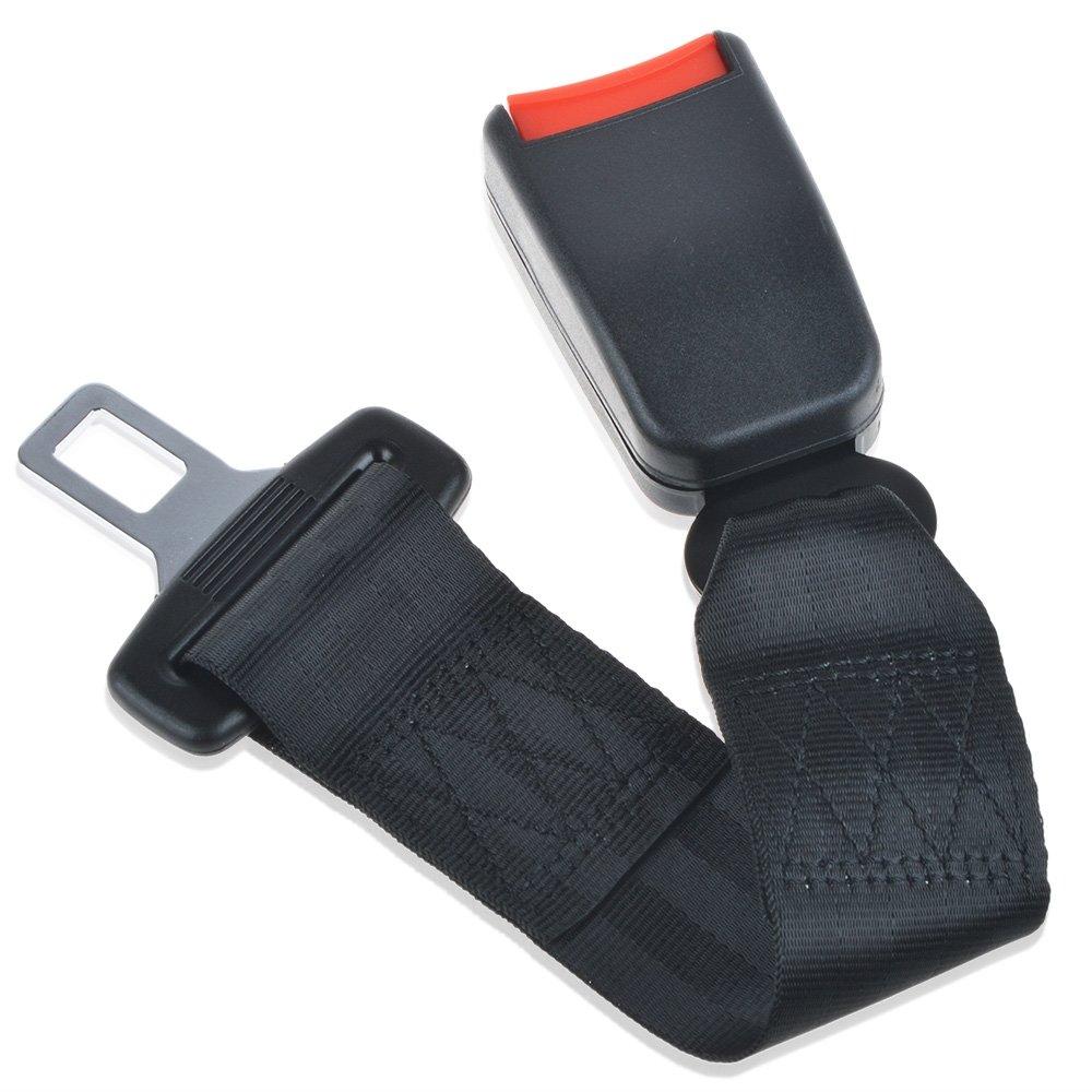Seat Belt Extender, Car Seat Belt Extender, Universal Car Seat Belt Extender, Seat Belt Extenders for Cars, 14'' Auto Belts Extender, Seatbelt Extenders for Child Car Seats, 7/8'' Metal Tongue, 1-Pack 14'' Auto Belts Extender 7/8'' Metal To