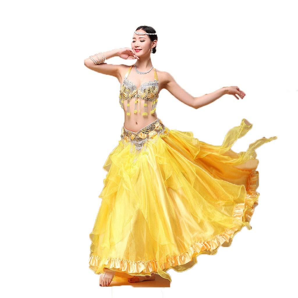 ホットセール ベリーダンスの練習服コスチューム手作りビーズブラセットスプリットクロススカート S B07PM3L178 ゴールド B07PM3L178 S s s, 雑貨屋さん ふるーつどろっぷ:e72e394d --- a0267596.xsph.ru