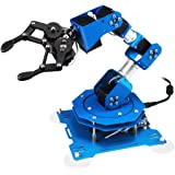 Robot arm 6DOF Full Metal Programmable xArm Robotic Arm with Feedback of Servo Parameter, Wireless/Wired Mouse Control…