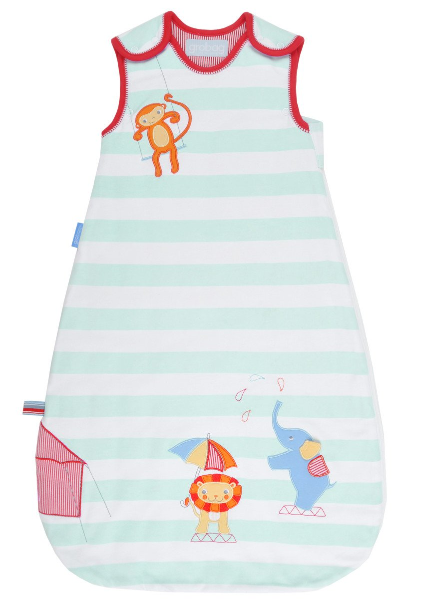 Grobag Sleepy Circus 1.0 Tog Baby Sleep Bag (0-6 Months) AAA2480